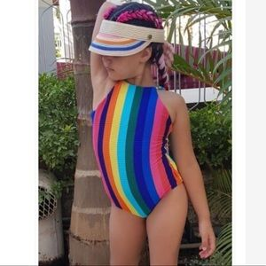Girls Size 12 SEAFOLLY GIRL Rainbow Crush One Piece swimmers, cossies, bathers